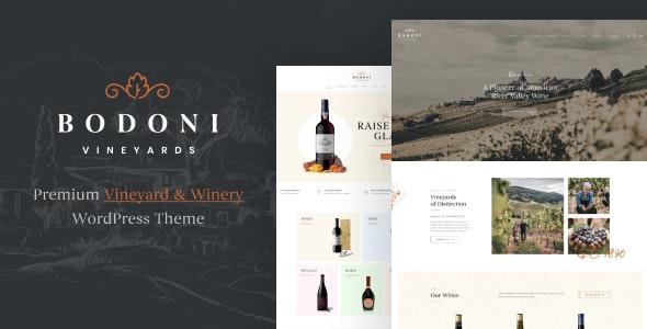 Bodoni - Wine Shop & Vineyard WooCommerce Theme - WooCommerce eCommerce