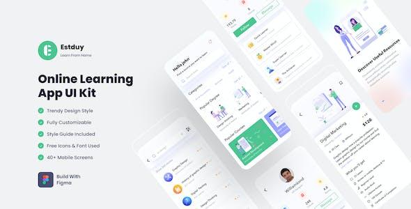 E-Study   Online Learning Mobile App