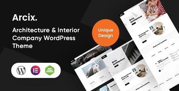Arcix - Architecture WordPress Theme - Corporate WordPress