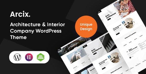 Arcix - Architecture WordPress Theme