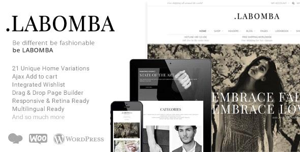 Labomba v3.1 – Responsive Multipurpose WordPress Theme