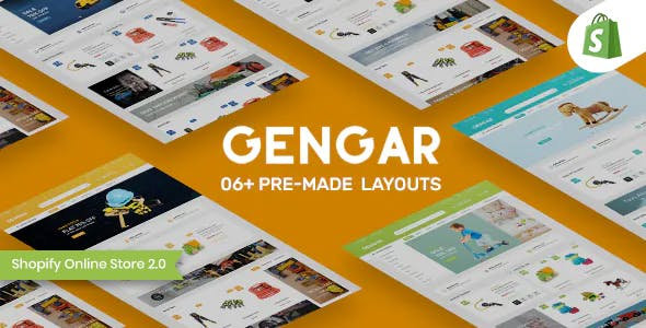 Gengar – Tools & Toys Store Shopify Theme