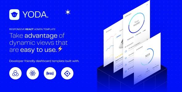 Yoda   React Admin Template React Hooks Redux Toolkit Ant Design - Admin Templates Site Templates