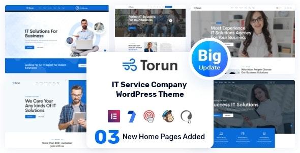 Torun | IT Services Company WordPress Theme - Business Corporate