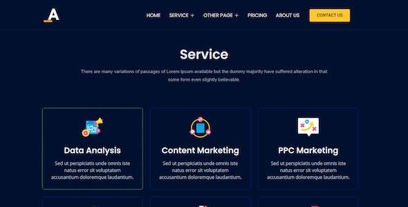 Aduna – Creative Agency Elementor Template Kit