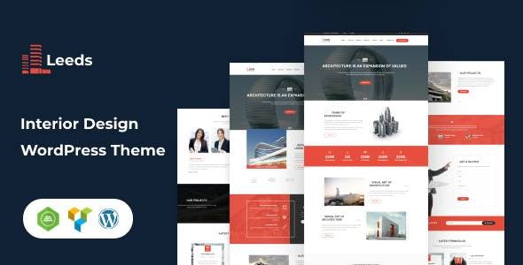 Leeds -  Interior Design WordPress Theme