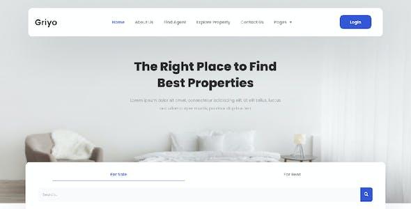 Griyo - Real Estate Elementor Template Kit