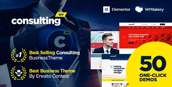 Consulting v6.2.1 – Business, Finance WordPress Theme
