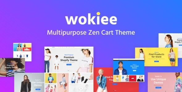 Wokiee - Multipurpose Zen Cart Template - Zen Cart eCommerce