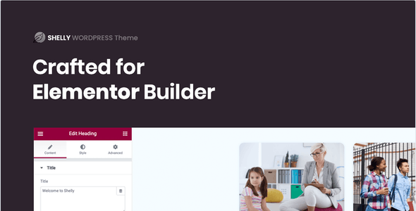 Shelly – School WordPress Theme
