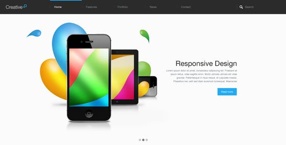 Creative - Multi Purpose PSD Theme