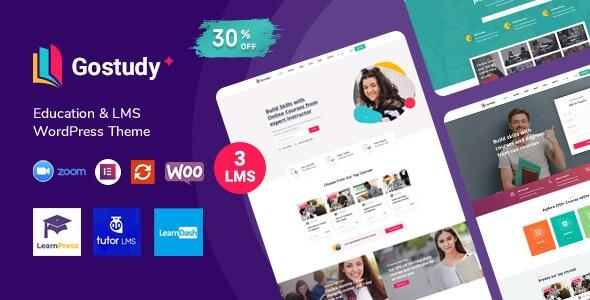 Gostudy v1.3.3 – Education WordPress Theme
