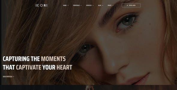 Iconi - Photography & Portfolio Elementor Template Kit