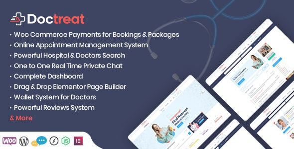 Doctreat - Doctors Directory WordPress Theme - Directory & Listings Corporate