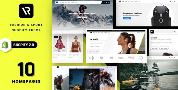 Random - Sport & Outdoor Clothing Shopify Theme - Fashion Shopify