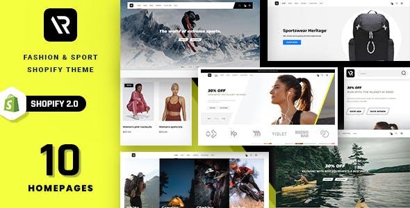Random - Sport & Outdoor Clothing Shopify Theme