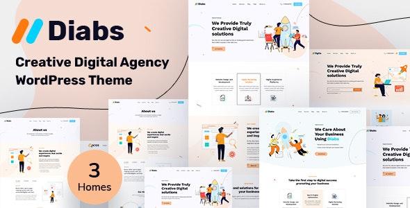 Dgita - Creative Digital Agency WordPress Theme - Creative WordPress