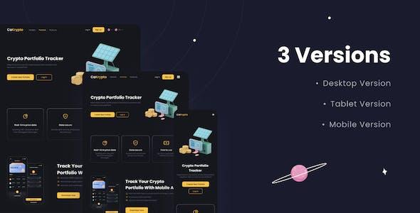 CaKrypto - Crypto Web UI Kit
