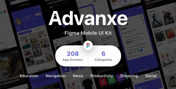 Advanxe - Figma Mobile UI Kit - Miscellaneous Figma