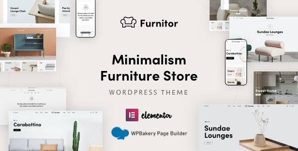 Furnitor – Minimalism Furniture Store WordPress Theme - WooCommerce eCommerce