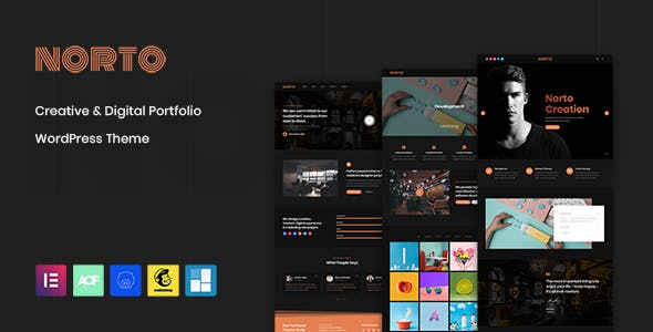 Norto - Creative Portfolio WordPress Theme