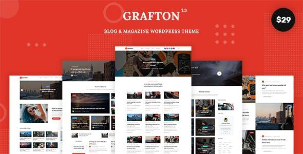 Grafton - Blog & Magazine WordPress Theme