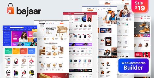 Bajaar - Highly Customizable WooCommerce WordPress Theme - WooCommerce eCommerce