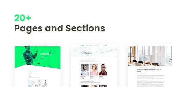 Meety – Events & Meetups Elementor Template Kit