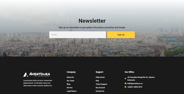 Aventoura - Travel & Tour Agency Elementor Template Kit