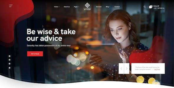 Nvisor - Financial Business Figma Template