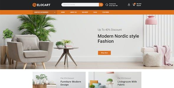Furniture Store OpenCart 3 Responsive Theme