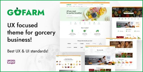 Gofarm - Grocery WooCommerce WordPress Theme - WooCommerce eCommerce