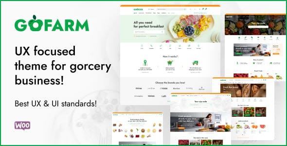 Gofarm - Grocery WooCommerce WordPress Theme