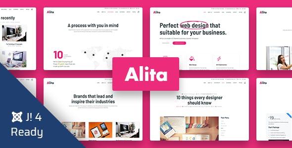 Alita - Web Studio Joomla 4 Template