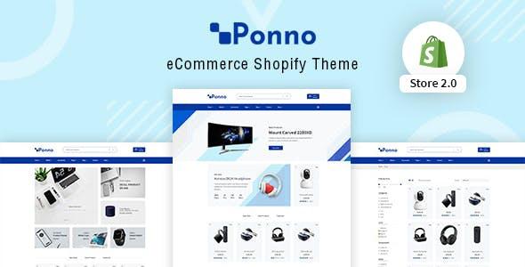 Electronics Shopify Theme - Ponno