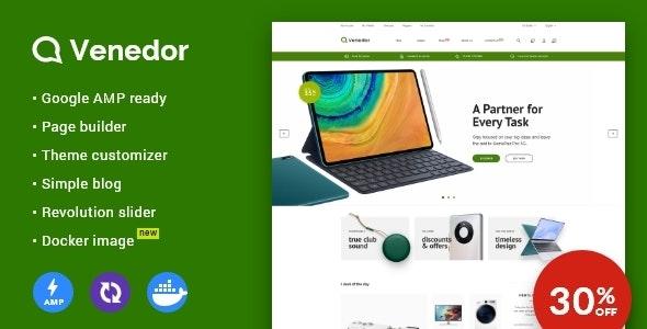 Venedor - Prestashop AMP Theme - Shopping PrestaShop