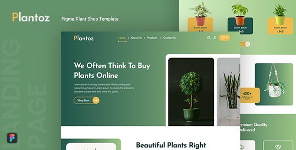 Plantoz — Plant Shop Figma Template