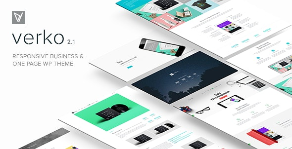 Verko | Responsive Business & One Page WP Theme - Business Corporate