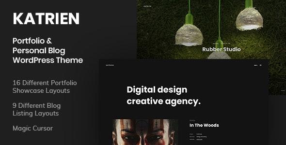 Katrien - Portfolio & Personal Blog WordPress Theme - Portfolio Creative