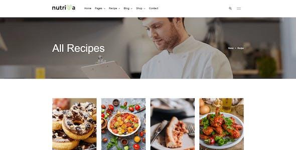 Nutriva - Nutrition & Recipe Elementor Template Kit