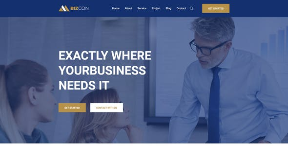 Bizcon - Business Consulting XD Template