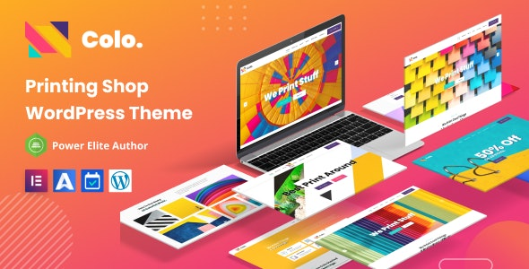 Colo - Printing Services WordPress Theme - Business Corporate