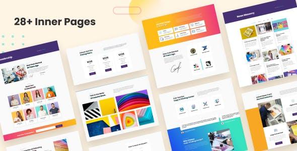Colo - Printing Services WordPress Theme