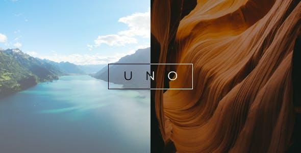 Uno - Creative Photography WordPress Theme
