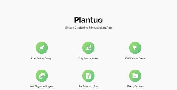Plantuo - Sketch Gardening & Houseplant App