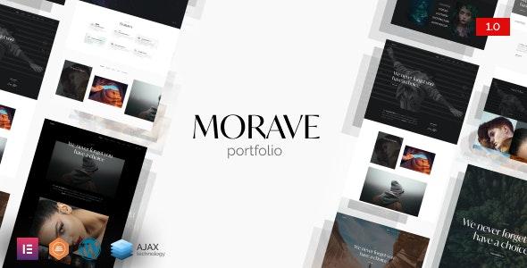 Morave - Portfolio Elementor - Portfolio Creative