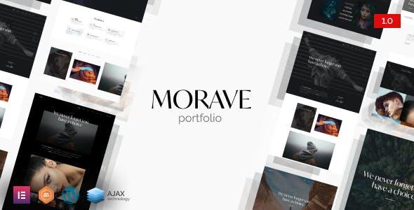Morave - Creative Portfolio WordPress