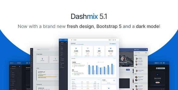 Dashmix - Bootstrap 5 Admin Dashboard Template & Laravel 8 Starter Kit - Admin Templates Site Templates