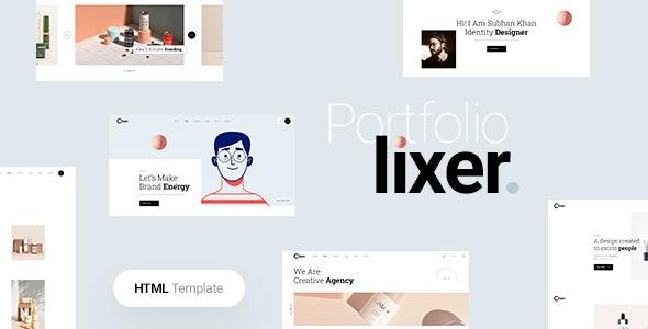 Lixer - Creative Portfolio HTML Template - Portfolio Creative