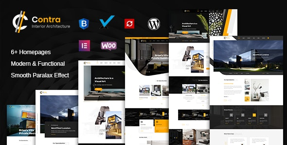 Contra   Architecture And Interior WordPress Theme - Corporate WordPress
